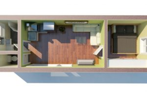 RMG modulový domček medium varianta M1