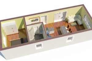 RMG modulový domček varianta Large L2
