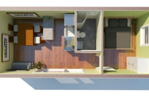 RMG modulový domček small varianta S1