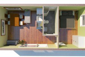 RMG modulový domček small varianta S2