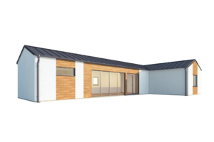 RMG modulový domček varianta Dvojmodul L1