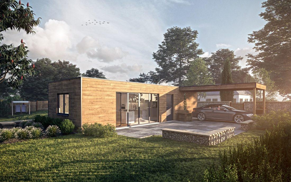 vizualizace modulového domu 2